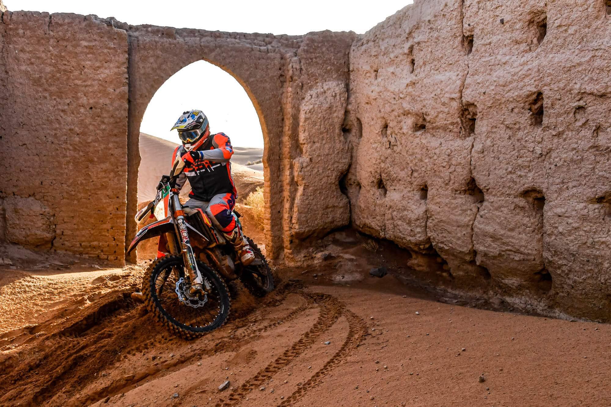 Casteu Trophy, une course moto dans une ambiance Dakar