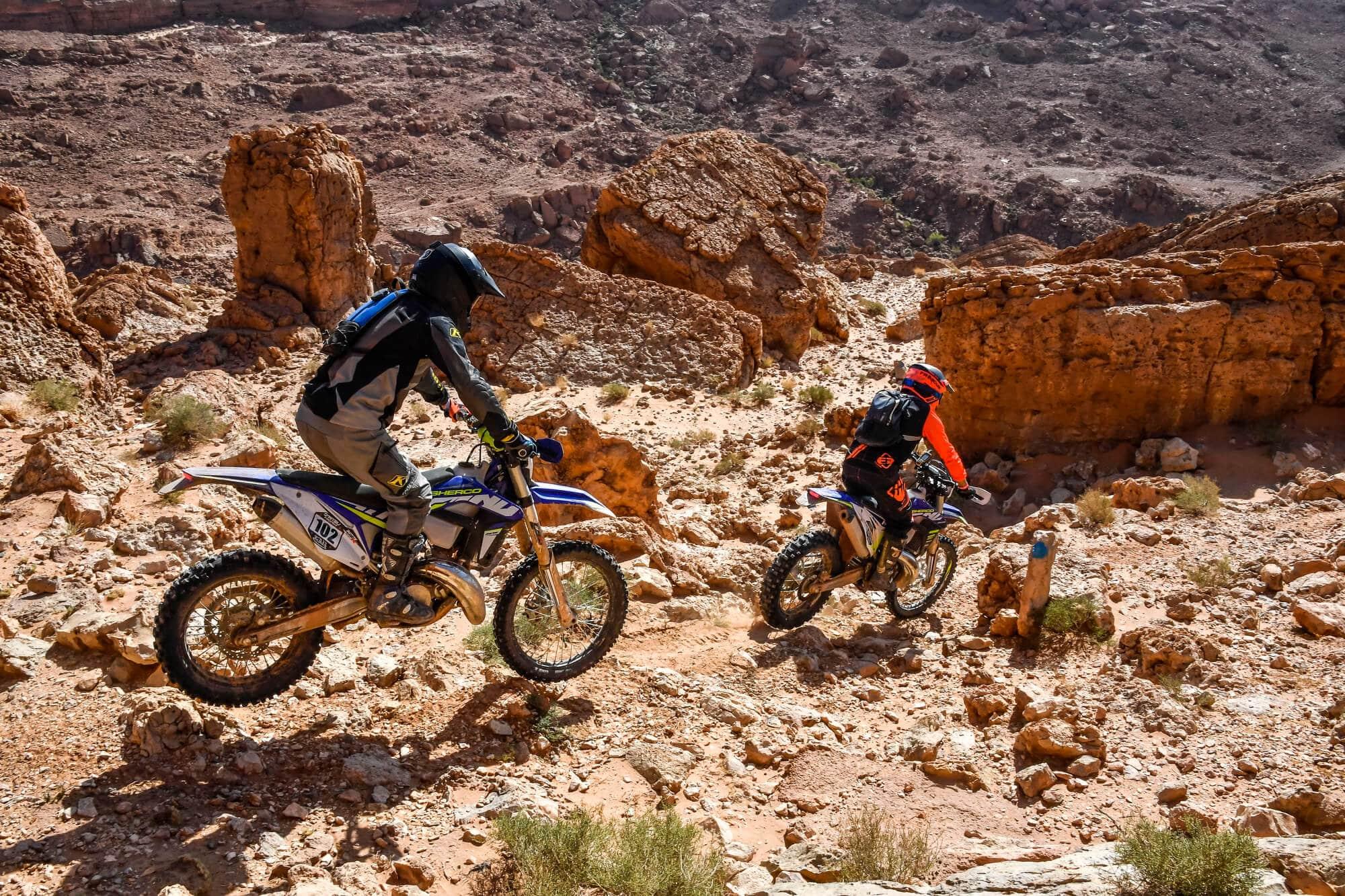 Casteu Trophy, un enduro duo dans les dunes de Merzouga